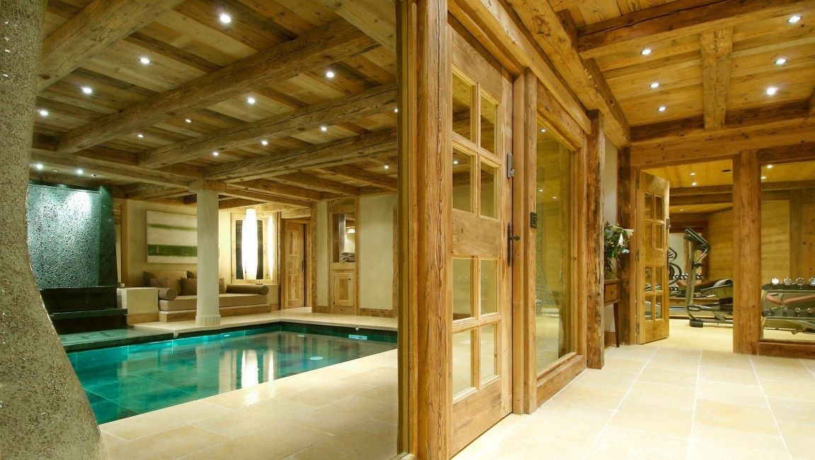 courchevel_chalet_papillon_spa_bereich